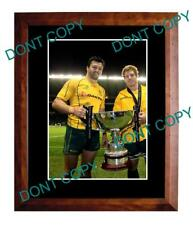 ADAM ASHLEY COOPER WALLABIES RUGBY LARGE A3 PHOTO 1