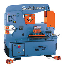 Scotchman 120/200-24M, 120 Ton Ironworker - Made In USA