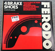 Original Ferodo Bremsbacken Hinten Citroen 2CV Ente/Ami 6/Dyane