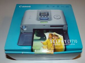 Canon SELPHY CP710 Digital Photo Thermal Printer - New In Box