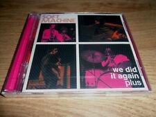 SOFT MACHINE - WE DID IT AGAIN PLUS - 2 CD - UK JAZZ/PROG/ROCK - 1972 + CARAVAN