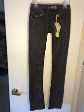 NWT LAGUNA BEACH JEAN CO. BLACK WASH STRAIGHT LEG HAND STITCHED JEANS Size 24