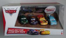 MATTEL® Y8394 Disney® Cars Race Day Fan 4-Cars Gift Pack 1:55