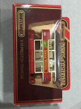 MATCHBOX MODELS OF YESTERYEAR - Y-15 Preston Tramcar (Swan Vestas)