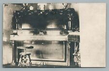 Wagner Piano & Stool RPPC Antique Interior Photo—Musical Instrument CYKO 1910s