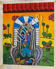 Dipinto cubano / cuban paiting / pintura cuba / cuba arte / monalisa cuba /cuba