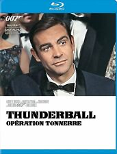 NEW BLU RAY - THUNDERBALL -  JAMES BOND - SEAN CONNERY ,