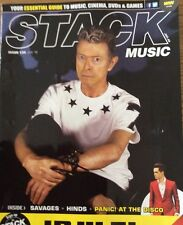 Magazine - Stack Music Features David Bowie Melbourne Australia Jan 16 Blackstar