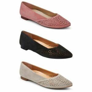 Vionic Womens Gem Carmela Ballet Flats Size 10 (Wide)
