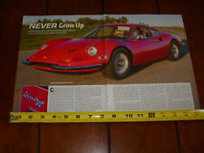 1972 FERRARI DINO 246 GT ORIGINAL 2012 ARTICLE