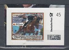 Germany Postage Stamp Individually Riding General Purpose Team