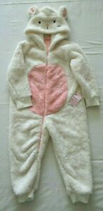 Mothercare Secret Garden Cream Fluffy Girls All in One Age 3-4 yrs BNWT RRP £17
