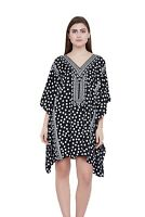 Women Kaftan Tunic Kimono Dress Summer Cover-Up Plus Size Top Beach Wear Dress