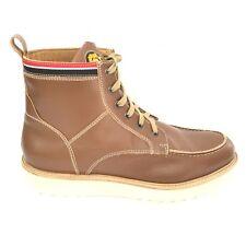 MANCHESTER UNITED scarpe shoes n. 42 uomo man MANM81 pelle marrone