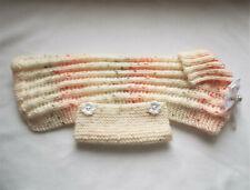 Hand Knitted Dog/puppy  Coat. Medium.