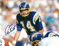 Dan Fouts Signed Autographed 8 x 10 Photo ( CHARGERS HOF ) REPRINT
