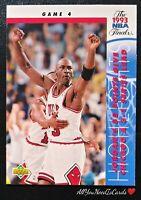Michael Jordan 1993-94 Upper Deck NBA Finals Insert Chicago Bulls Card #201