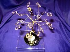 FSH165 Feng Shui Rose Quartz Hearts & Coin Tree for Romance