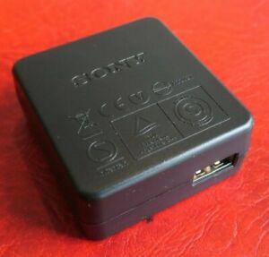 Sony Original USB Digital Camera Charger AC-UB10C 5V 0.5A 100V-240V