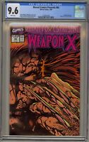 Marvel Comics Presents 84 CGC 9.6 Weapon X Wolverine Uncanny X-Men 1st Origin