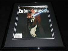 Ewan Macgregor Star Wars Framed 11x14 ORIGINAL 1999 Entertainment Weekly Cover