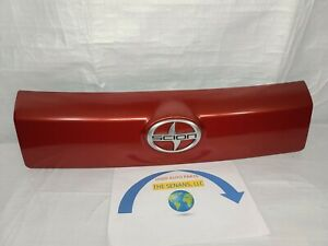 2008-2014 Toyota Scion xD rear trunk liftgate finish panel, Red