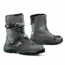 motorcycle boots | Forma Adventure Low grey mens unboxed adv road riding touring