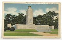 Eternal Light Peace Monument Gettysburg Pennsylvania PA Vintage Postcard