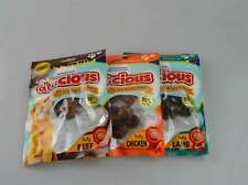 Real Meat Dog Treats Meaty Knot Bones Pk3 Chicken Beef Lamb Flavour Pet Chews