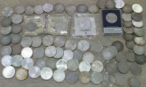 5 DM Silberadler Sammlung - 81 Münzen - SILBER