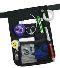 Nurse Carry Pouch Pocket Waist Bag Quick Pick Vet Nurses Belt w/ Free CarabineUs