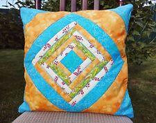"Exclusive pillow case patchwork 16""x 16"" Cushion Cover, 100% cotton"