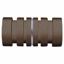 Crl Oil Rubbed Bronze Contemporary Style Back-to-Back Shower Door Knobs
