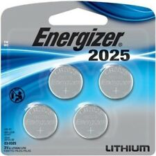 "4 Energizer CR2025 2025 3V Lithium Coin Cell Batteries ""In Original Packaging"""
