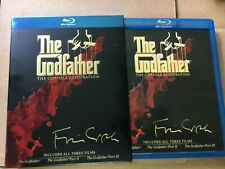 The Godfather Collection 1,2,3 - The Coppola Restoration (2008, 4-Disc Blu-Ray)