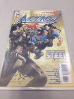 Action Comics # 4 Superman DC Comics February 2012 New 52 Grant Morrison Morales