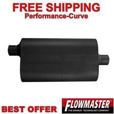 "Flowmaster Super 50 Series Delta Flow Muffler 409 Stainless 2.5"" O/C 852556"