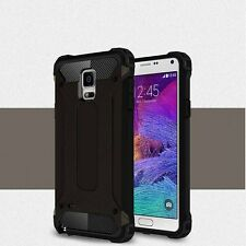 For Samsung Galaxy S5 S6 S7 S8 S9 Hard Armor Hybrid Rubber Shockproof Case Cover