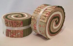Jelly Rolls 44 inch wide, Fat Quarters,  patchwork Squares Cotton Fabric  (JR29)