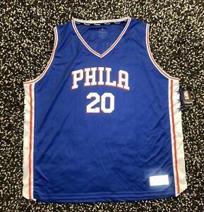Philadelphia 76ers Markelle Fultz Fanatics Jersey Size 4XL NWT