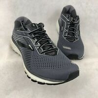 Brooks Ghost 12 Men's Running Shoes Size 10.5 Medium Gray Sneakers Near Mint