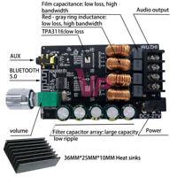 2x100W AUX Input 2-in-1 HIFI Level w/ Filter Bluetooth Digital Amplifier Board