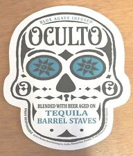 Oculto Beer Budweiser Sugar Skull Bar Coasters Coaster - 20 Pk  New & Free Ship