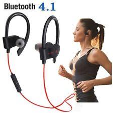New Bluetooth Earphone  Stereo Wireless Sport Earpiece Handsfree With Mic