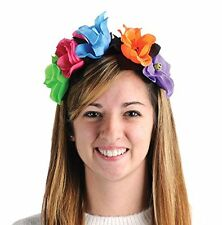 Dia De Los Muertos DAY OF THE DEAD Flower HEADBAND Costume Accessory HALLOWEEN
