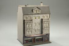 H0 FALLER 130446 stadhaus con Pizzeria y huéspedes marcas de uso /suciedad/