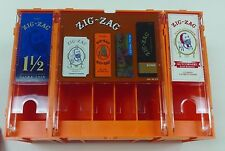 ZIG ZAG ROLLING PAPERS DISPLAY RACK FOR 6 DIFFERENT KINDS OF TOBACCO PAPERS NEW