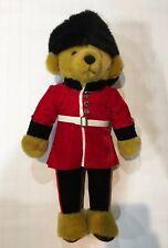 Vintage Merrythought Ironbridge Shrops British Guard Handmade Uk Teddy Bear New