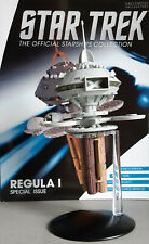 Star Trek Regula I Space Laboratory Modèle Spécial 24 Eaglemoss Anglais Magazine