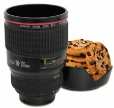 CAMERA LENS COVER CUP TEA COFFEE JUMBO MUG BISCUIT COOKIE HOLDER LID COASTER 132
